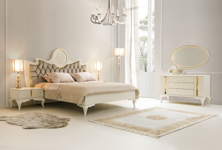 Trabcelona Design – NEV OTTOMAN : modern tarz Yatak Odası