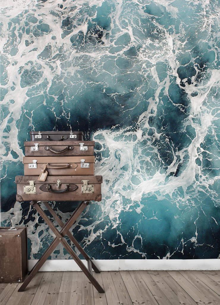 Wild Water:  Woonkamer door BN International, Tropisch