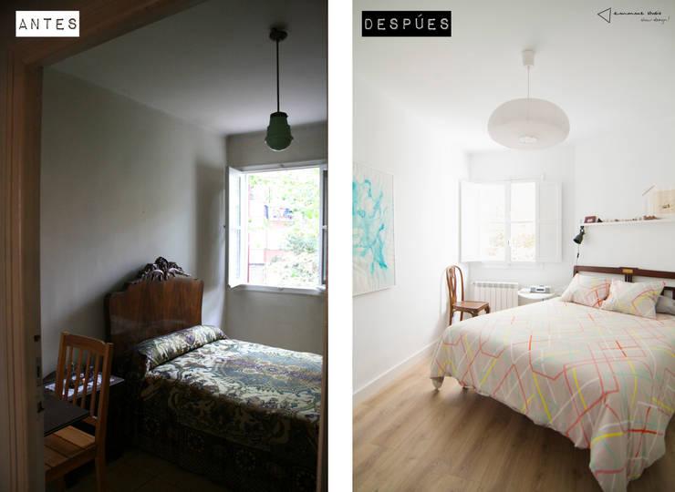 Habitación principal:  de estilo  de emmme studio
