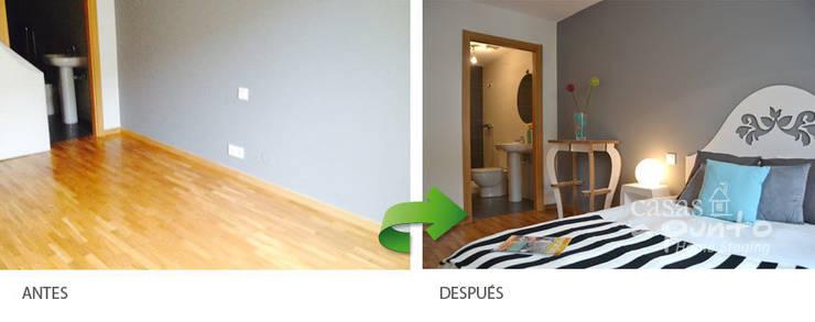 Los espacios vacíos no venden . :  de estilo  de Casas a Punto home staging