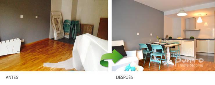 Salón :  de estilo  de Casas a Punto home staging