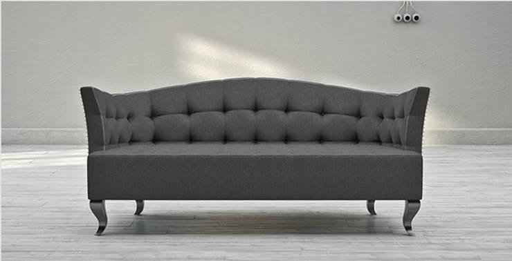 Sofa PUNK: styl , w kategorii Salon zaprojektowany przez Delicious Concept