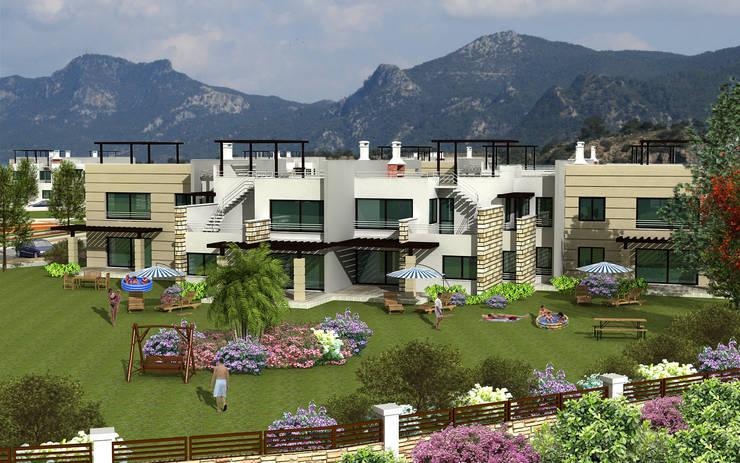 Modern houses by Latis Mimarlık ve İnşaat Modern