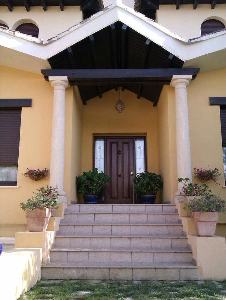 casa SOTO / CAMACHO: Casas de estilo  de Alejandro Ramos Alvelo / arquitecto