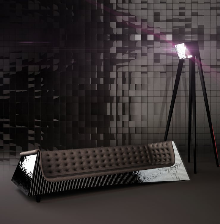 Sofa BLINK: styl , w kategorii Salon zaprojektowany przez Delicious Concept