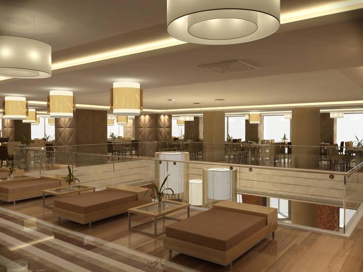 Latis Mimarlık ve İnşaat – Restaurant 01: modern tarz , Modern