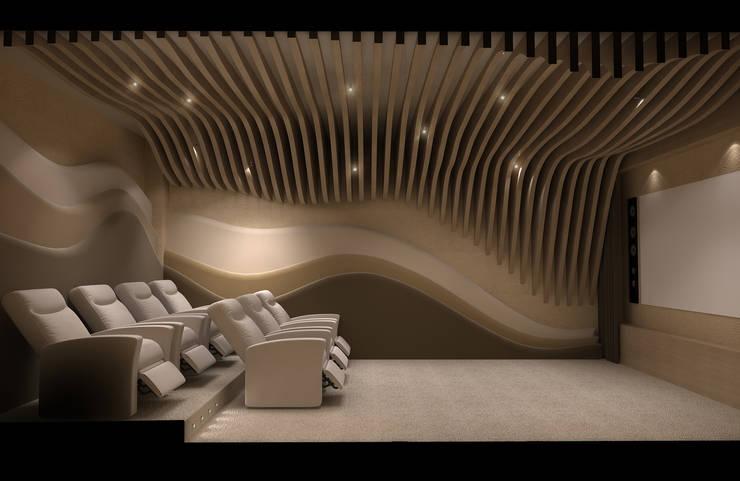 Paisajismo de interiores de estilo  por Latis Mimarlık ve İnşaat