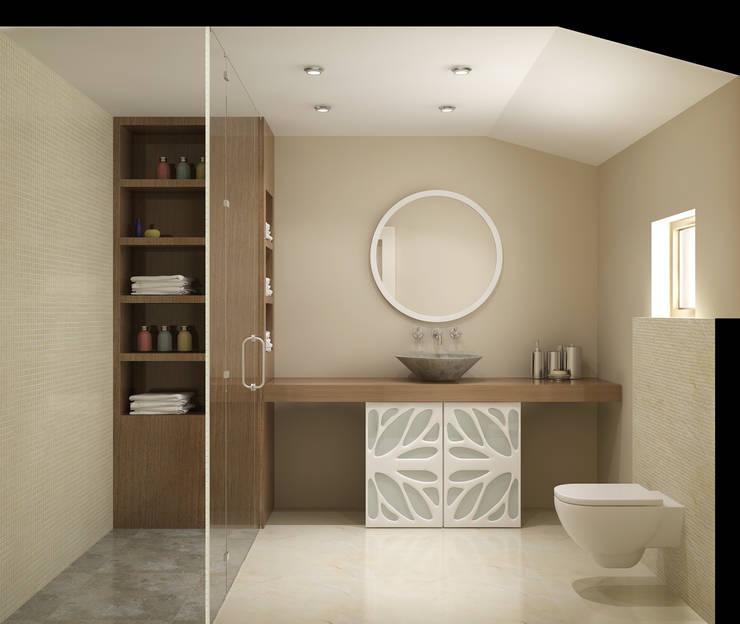 Latis Mimarlık ve İnşaat – Banyo Dekorasyon 03:  tarz İç Dekorasyon