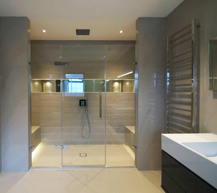 Taylors Etc Client Bathrooms : modern Bathroom by Taylors Etc
