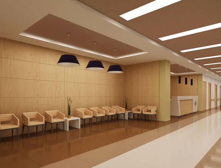 Latis Mimarlık ve İnşaat – Hastane Dekorasyon 02:  tarz İç Dekorasyon