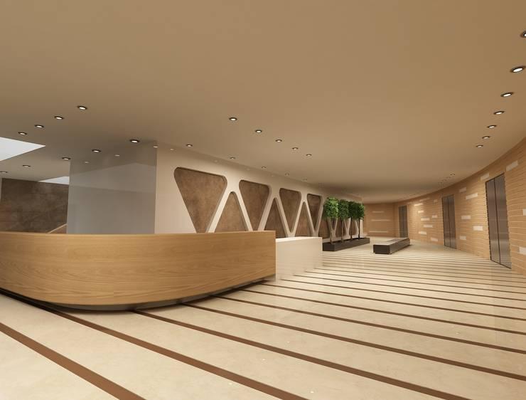 Latis Mimarlık ve İnşaat – Hastane Dekorasyon 01:  tarz İç Dekorasyon