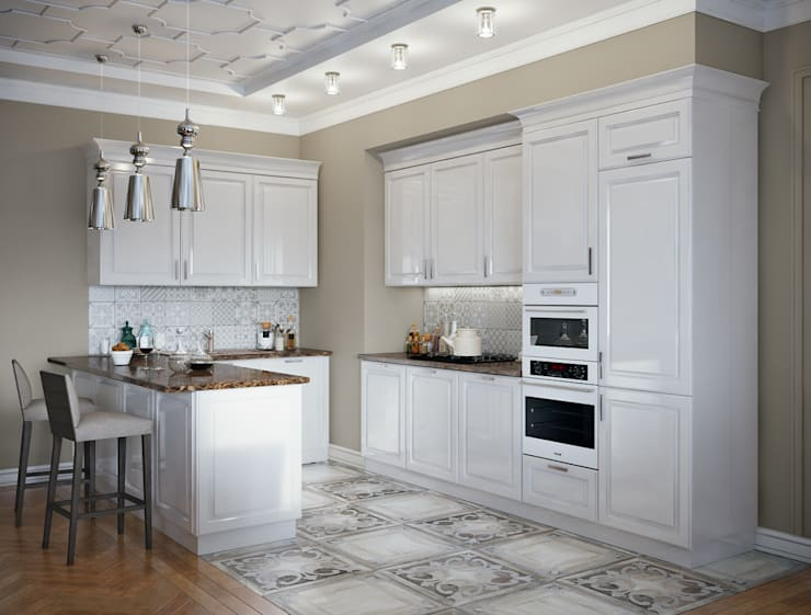 Kitchen by EJ Studio, Classic