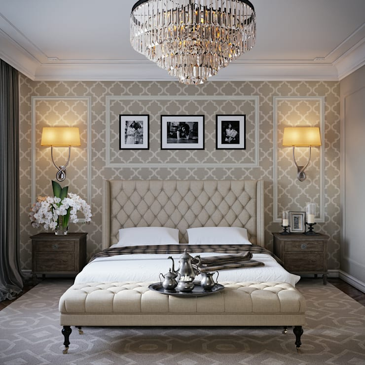 Bedroom by EJ Studio, Classic