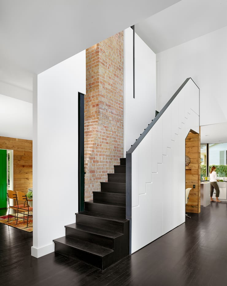 Коридор и прихожая в . Автор – Hugh Jefferson Randolph Architects, Модерн