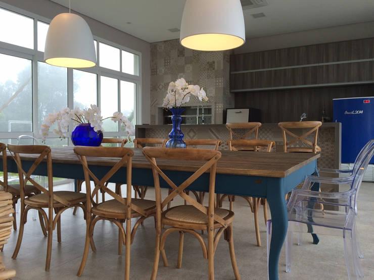 Salão de festas: Sala de jantar  por Arteforma Arquitetura