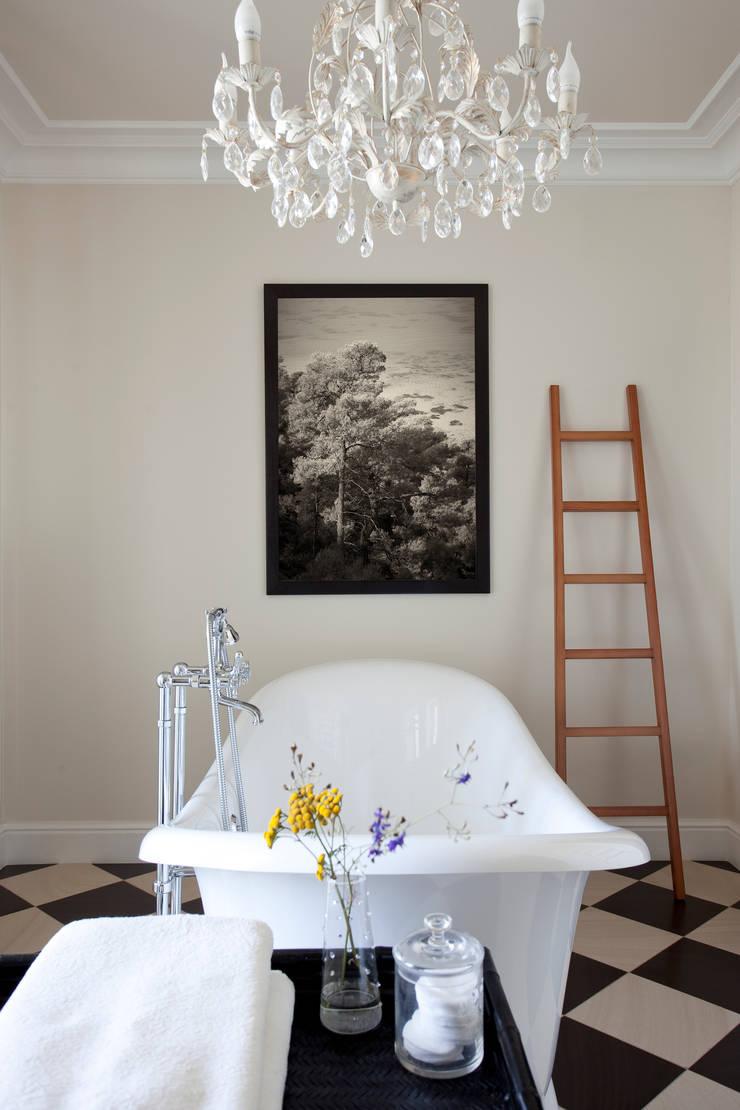 Хозяйская ванная: Ванные комнаты в . Автор – Оксана Панфилова