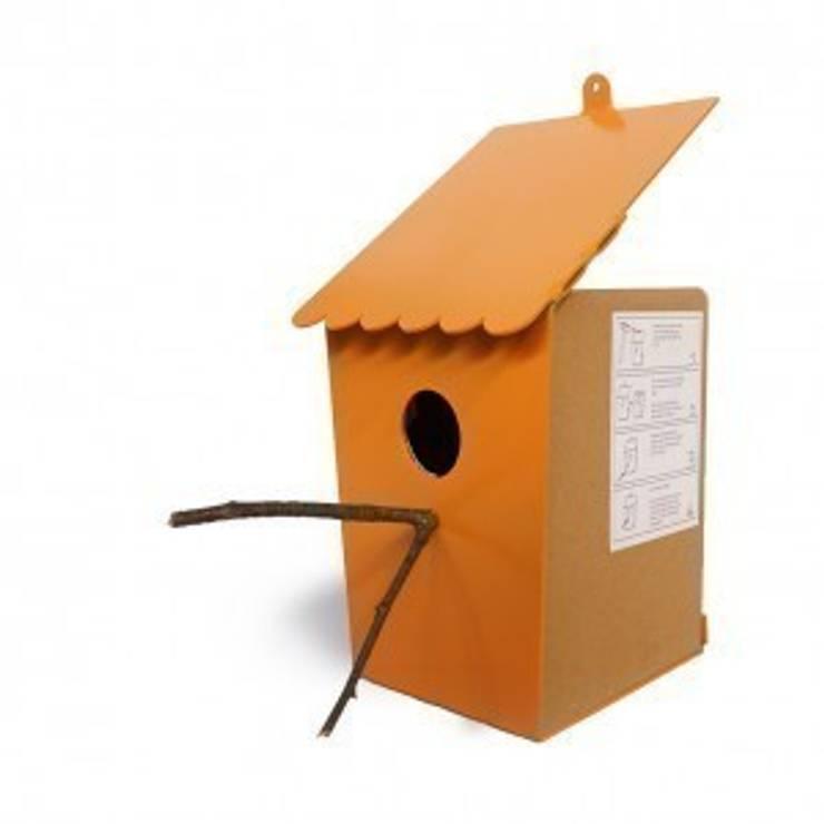 Zelf Vouw vogelhuis: modern  door riesgeurts, Modern