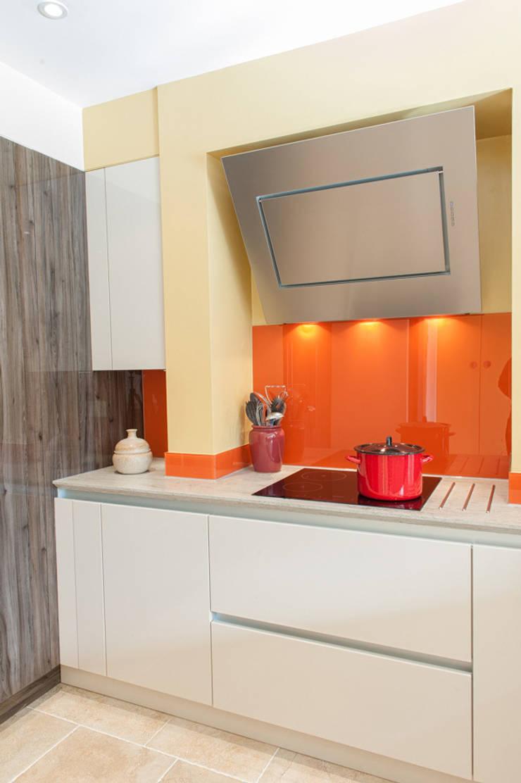 Urban Life Kitchen - Japanese Pear and Biege Gloss:  Kitchen by Urban Myth