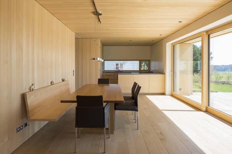 Haus Hiemer:  Esszimmer von architektur + raum