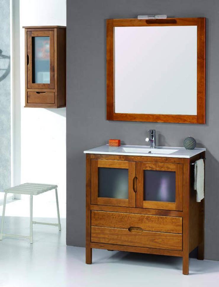 Mueble de baño Bruselas de 80: Baños de estilo  de Bañoweb