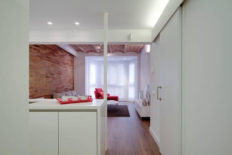 Salon minimaliste par ELIX Minimaliste
