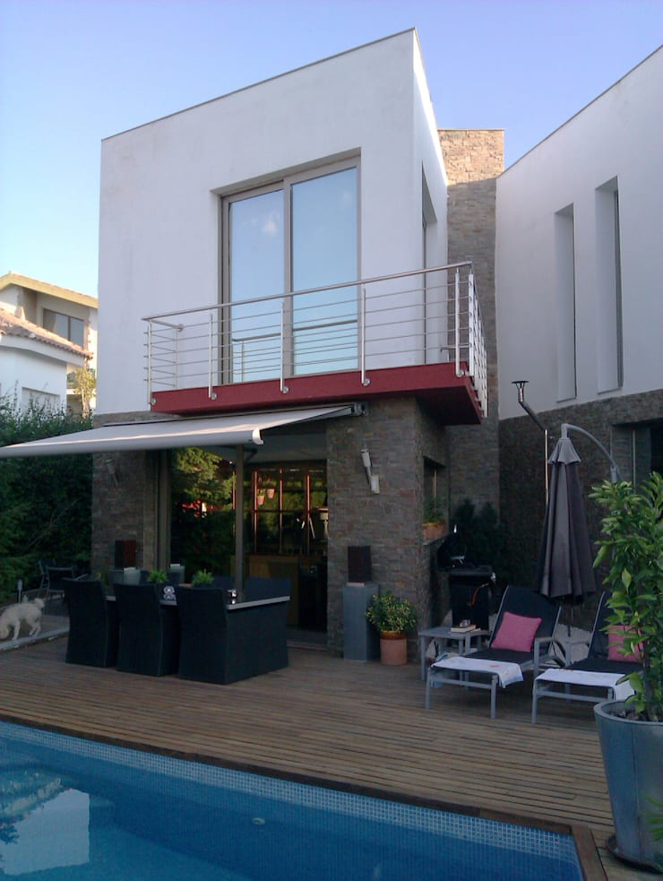 casa HEM / ALONSO: Casas de estilo  de Alejandro Ramos Alvelo / arquitecto