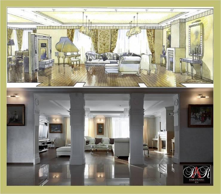 Холл:  в . Автор – DAR-studio