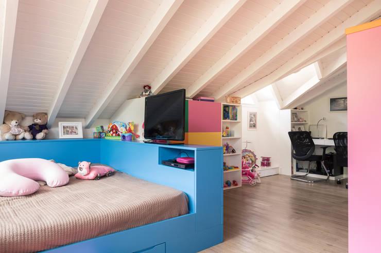 MCP01 | Brinquedoteca: Quarto infantil  por Kali Arquitetura