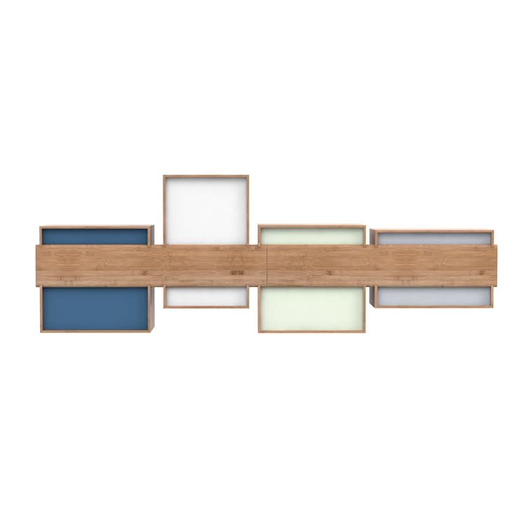 SJ Bookcase Large:  Living room by We Do Wood