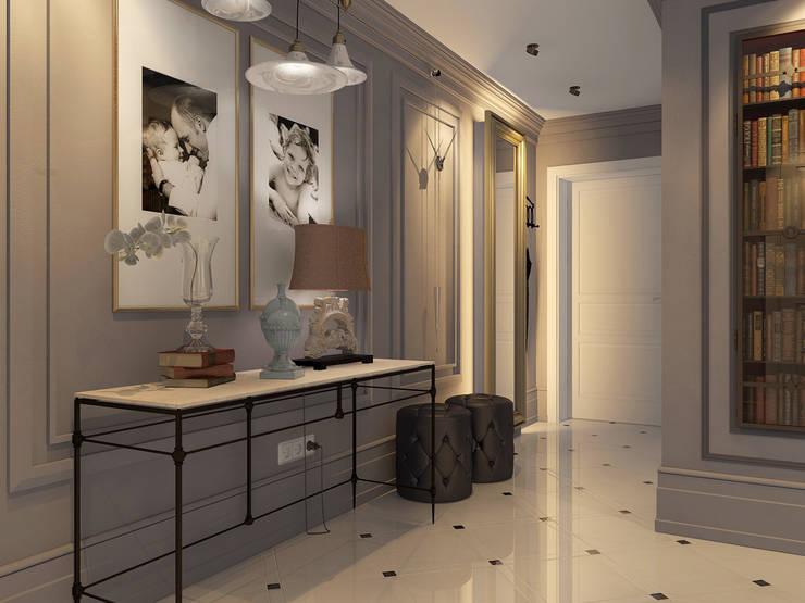 Дизайн квартиры в комплексе <q>Александрия</q>: Кухни в . Автор – Студия Антона Базалийского