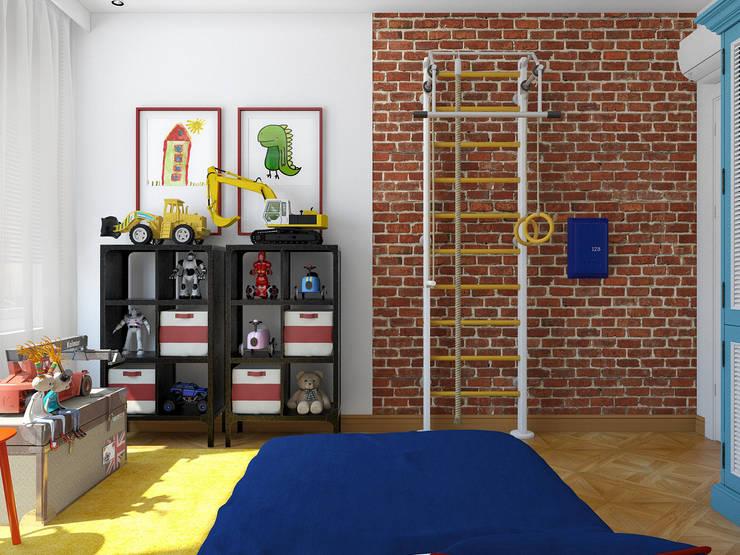 Студия Антона Базалийского:  tarz Çocuk Odası