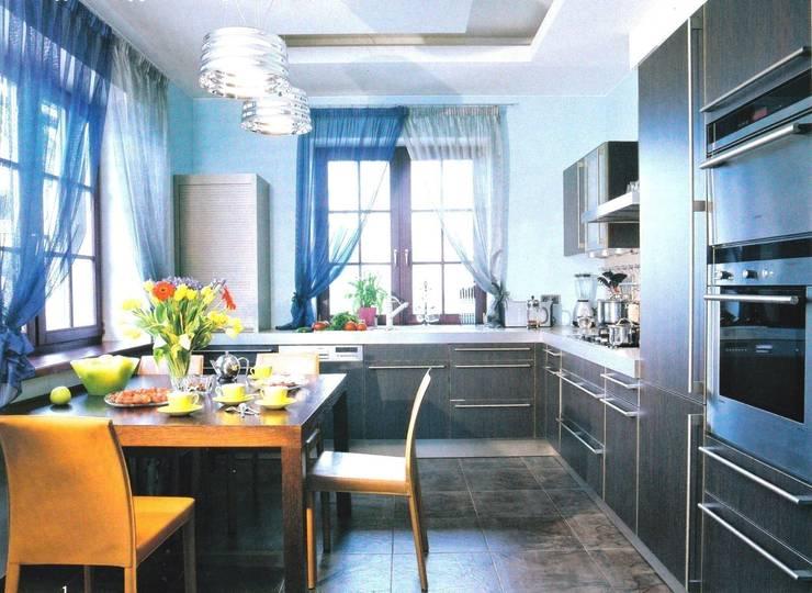 История с геометрией: Кухни в . Автор – Studio B&L