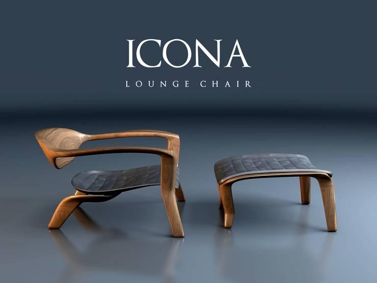 CVKDesign – icona lounge chair:  tarz Oturma Odası