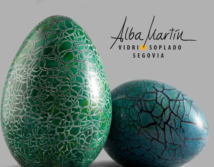 """Huevos de critter"" Vidrio Soplado: Arte de estilo  de Alba Martín Vidrio Soplado"