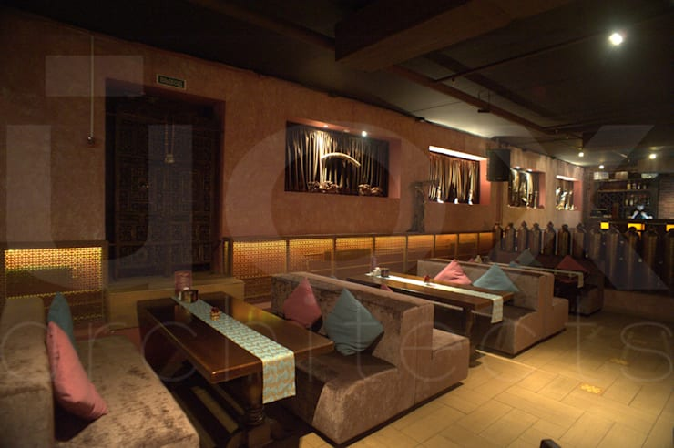"Ресторан ""Карма"":  в . Автор – ЙОХ architects,"