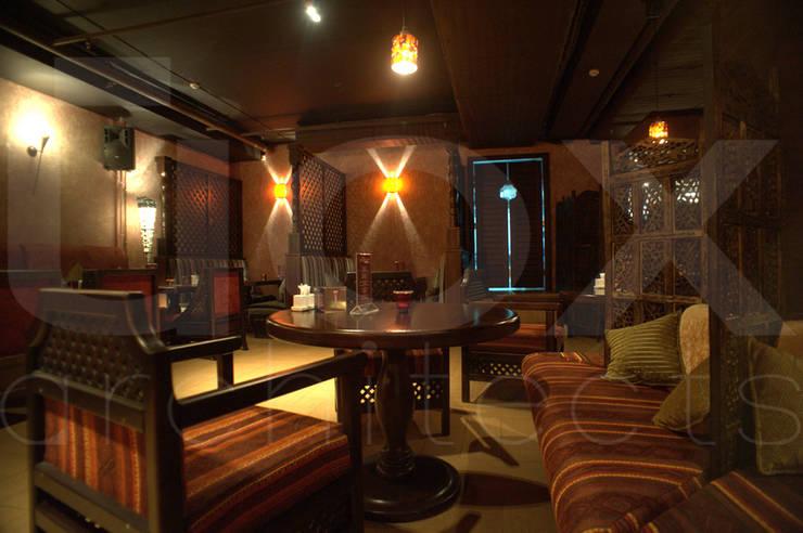Ресторан <q>Карма</q>:  в . Автор – ЙОХ architects