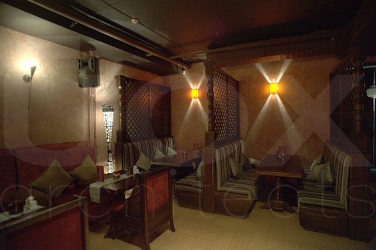 Ресторан <q>Карма</q>:  в . Автор – ЙОХ architects,