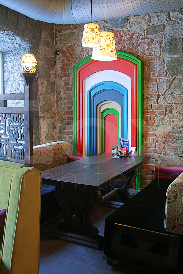 Ресторан <q>Чайхана</q>:  в . Автор – ЙОХ architects