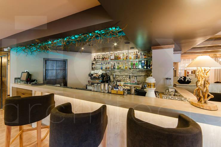 Ресторан <q>CHALET</q>:  в . Автор – ЙОХ architects
