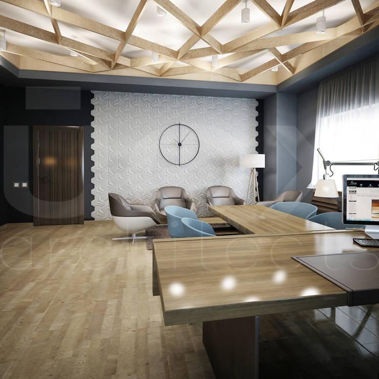 """Офис компании """"РВД"""": Офисные помещения в . Автор – ЙОХ architects"""