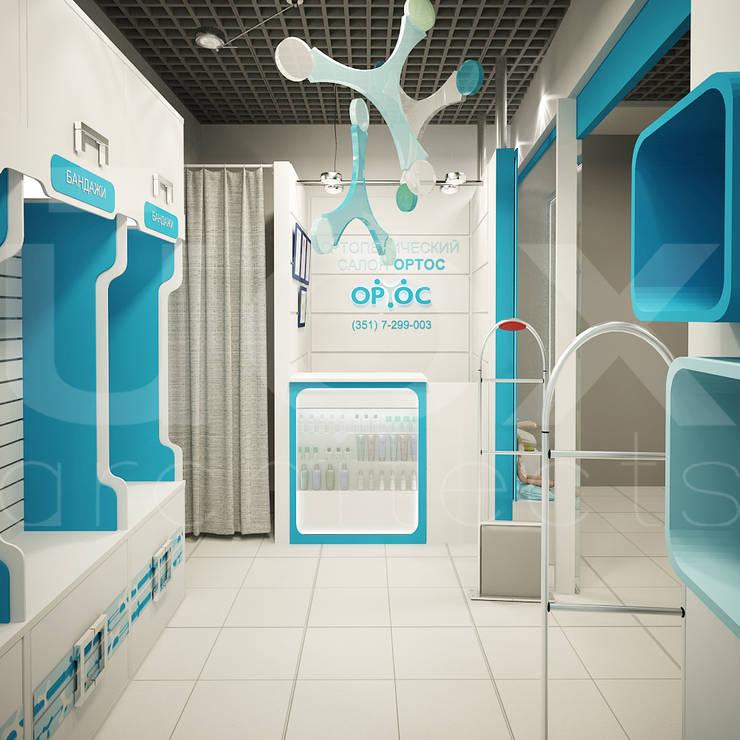 Салон ортопедических товаров <q>ОРТОС</q>: Коммерческие помещения в . Автор – ЙОХ architects