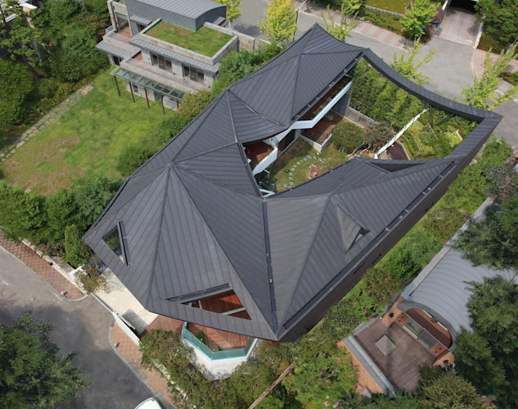 Maisons de style  par IROJE KIMHYOMAN,