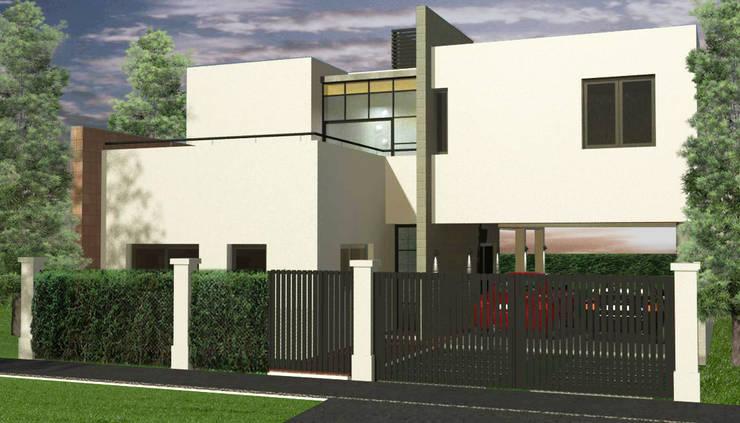 Vienda Tierra de Sueños PSM: Casas de estilo  por Estudio Acciarri
