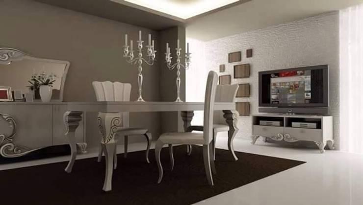 Mahir Mobilya – Avangart Yemek Odası: rustik tarz tarz Yemek Odası