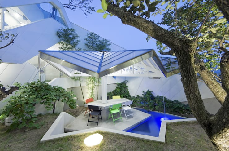 modern Garden by IROJE KIMHYOMAN