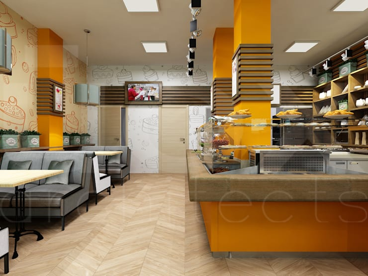 Кулинария <q>Сели-съели</q>: Ресторации в . Автор – ЙОХ architects