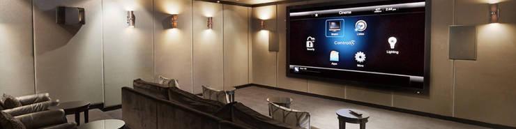 Das optimale Heimkino: moderner Multimedia-Raum von media & home :: hoffmann