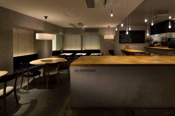 44 APARTMENT: 窪田建築都市研究所 有限会社が手掛けたです。