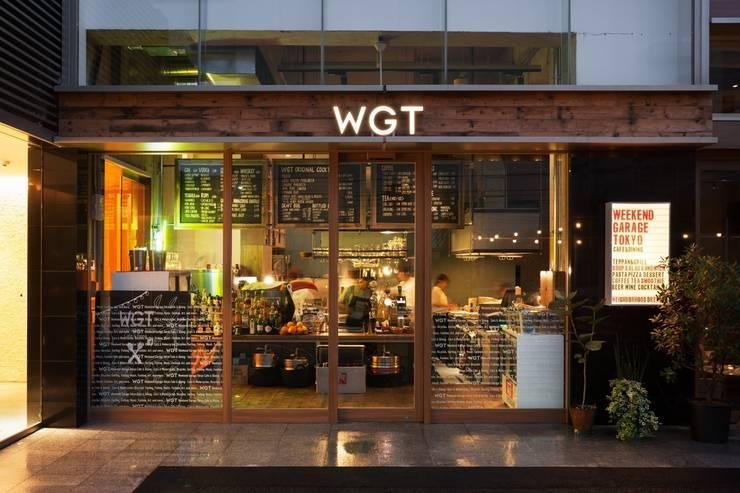 WEEKEND GARAGE TOKYO: 窪田建築都市研究所 有限会社が手掛けたです。