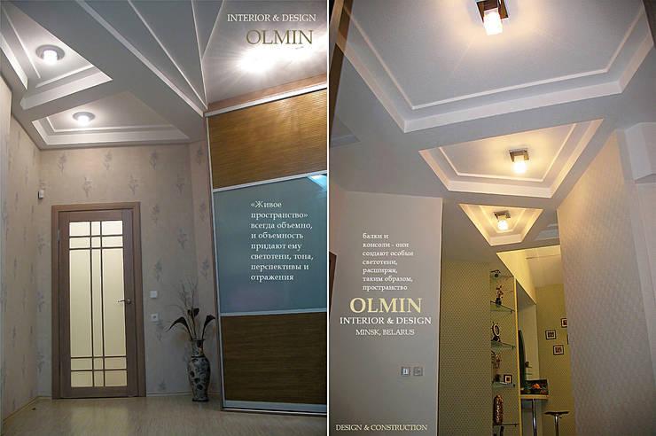 ПоТолковая квартира:  в . Автор – ИП OLMIN - Архитектурная студия Олега Минакова